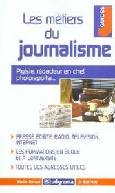 Les metiers du journalisme (2e édition) - Intérieur - Format classique