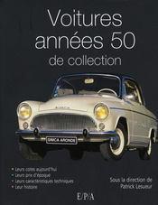 Les voitures de collection des années 50 - Intérieur - Format classique