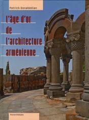 L'âge d'or de l'architecture arménienne - Intérieur - Format classique