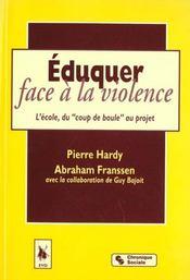 Eduquer Face A La Violence - Intérieur - Format classique