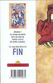 Yu-Gi-Oh t.4 - 4ème de couverture - Format classique