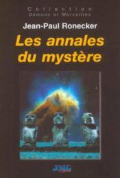 Annales du mystere (les) - Couverture - Format classique
