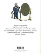 Blanchet et les 7 chevreaux - 4ème de couverture - Format classique