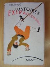 Histoires extraordinaires. - Couverture - Format classique