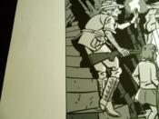 Sérigraphie Les mystères de la banque. Numérotée 82/100, signée - Couverture - Format classique