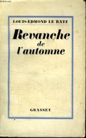 Revanche De L Automne. - Couverture - Format classique