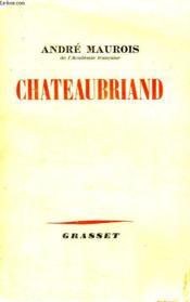 Chateaubriand. - Couverture - Format classique