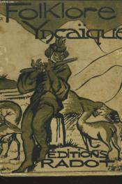 Folklore Yncaïque - Couverture - Format classique