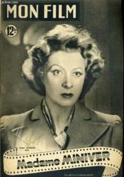 Mon Film N° 192 - Madame Miniver - Couverture - Format classique
