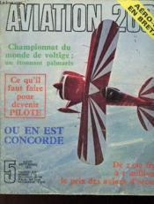 Aviation 2000 - Aout Septembre 1972 - Couverture - Format classique