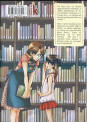Le maître des livres T.6 - 4ème de couverture - Format classique