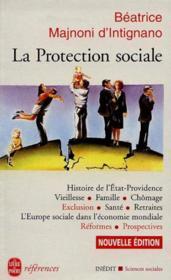 La Protection Sociale - Couverture - Format classique