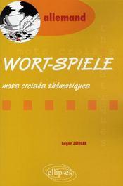 Wort-spiele, mots croisés thématiques en allemand - Intérieur - Format classique