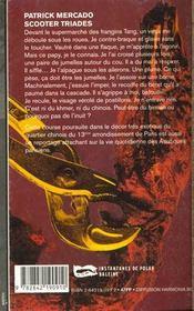 Scooter Triades - 4ème de couverture - Format classique