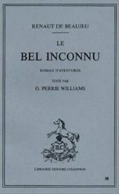 Bel Inconnu - Couverture - Format classique