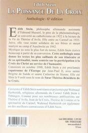 Puissance de la croix - nouvelle edition - 4ème de couverture - Format classique