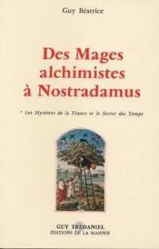 Mages Alchimiste A Nostradamus - Couverture - Format classique