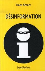 Désinformation - Intérieur - Format classique