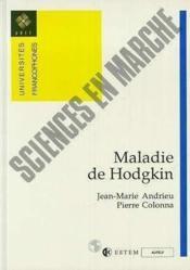 Maladie De Hodgkin - Couverture - Format classique