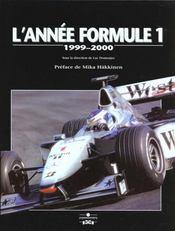 Annee Formule 1 1999-2000 - Intérieur - Format classique