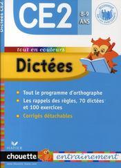 telecharger Chouette – Dictees – Ce2 – 8/9 Ans livre PDF en ligne gratuit