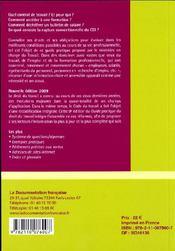 Guide pratique du droit du travail (9e édition) - 4ème de couverture - Format classique