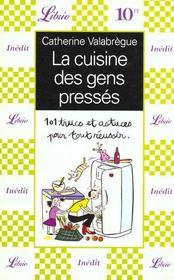 La cuisine des gens presses - Intérieur - Format classique