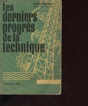 Les Derniers Progres De La Technique Tome 1 - Couverture - Format classique