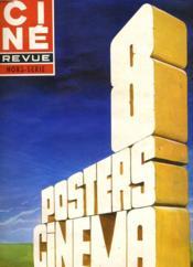 Cine Revue - Tele-Programmes - 55e Annee - N° 6a - Hors-Serie - 6 Posters Cinema. - Couverture - Format classique