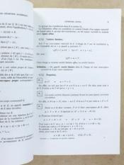 Compléments de géométrie algébrique , Spéciales et MP 2 [ Mathématiques supérieures et spéciales - Tome 3 ] - Couverture - Format classique