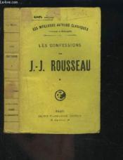 LES CONFESSIONS- TOME 1 vendu seul - Couverture - Format classique