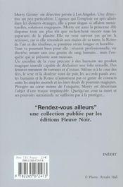 Merry Gentry T.1 ; le baiser des ombres - 4ème de couverture - Format classique