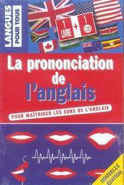 Coffret La Prononciation De L'Anglais - Intérieur - Format classique