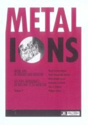 Metal Ions In Biology And Medicine. Volume 9 (Les Ions Metalliques En Biologie Et En Medecine) - Couverture - Format classique