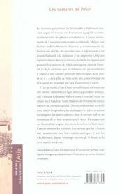 Les sextants de Pékin - 4ème de couverture - Format classique