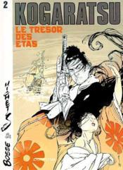 Kogaratsu t.2 ; le trésor des Etas - Couverture - Format classique