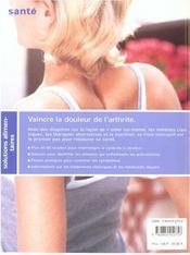 Rhumatisme & Arthrite ; Recettes Et Conseils Pour Arreter La Douleur - 4ème de couverture - Format classique