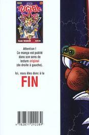 Yu-Gi-Oh t.6 - 4ème de couverture - Format classique