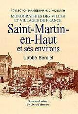 Saint-Martin-En-Haut Et Ses Environs - Couverture - Format classique