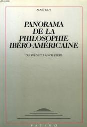 Panaorama philosophie ibero-americaine - Couverture - Format classique