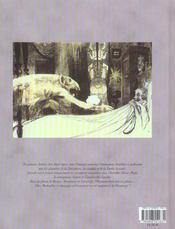 Bande dessinee - t2 - le golem - 4ème de couverture - Format classique