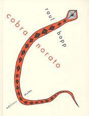 Cobra norato - Couverture - Format classique