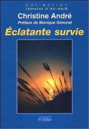 Éclatante survie - Couverture - Format classique