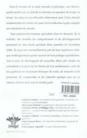 Les assises de la guérison ; actes des journées psychosomatiques de Paris ; 11 et 12 novembre 2006 - 4ème de couverture - Format classique