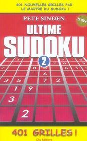 Ultime sudoku vol.2 - Intérieur - Format classique