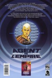 Star Wars - agent de l'empire t.1 ; projet éclipse - 4ème de couverture - Format classique