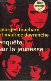 Enquete Sur La Jeunesse. Collection : Idees N° 167 - Couverture - Format classique