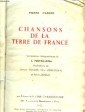 Chansons De La Terre De France - Couverture - Format classique