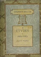 Etudes Et Preludes - Cahiers N° 5 : 25 Etudes : Introduction A L'Art De Phraser - Pour Piano. - Couverture - Format classique