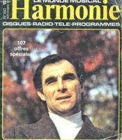 Harmonie N°150 - Couverture - Format classique